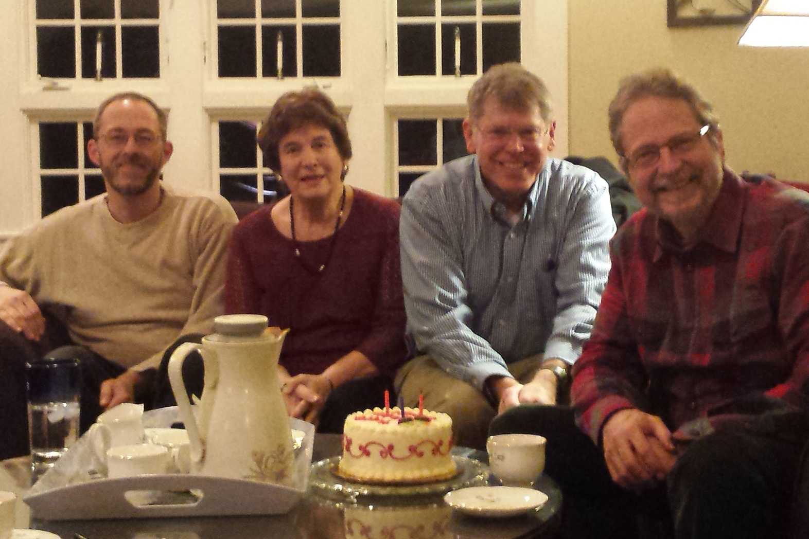 New Life Community Church Leaders at Birthday Meeting